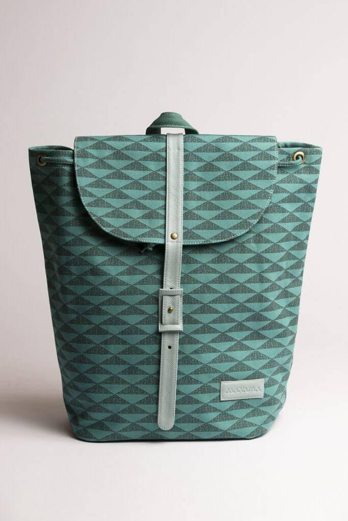 Sage Blue Backpack