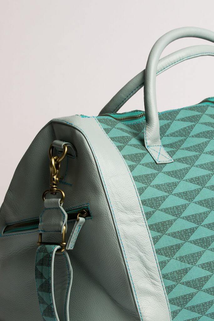 Sage Blue Weekend Bag