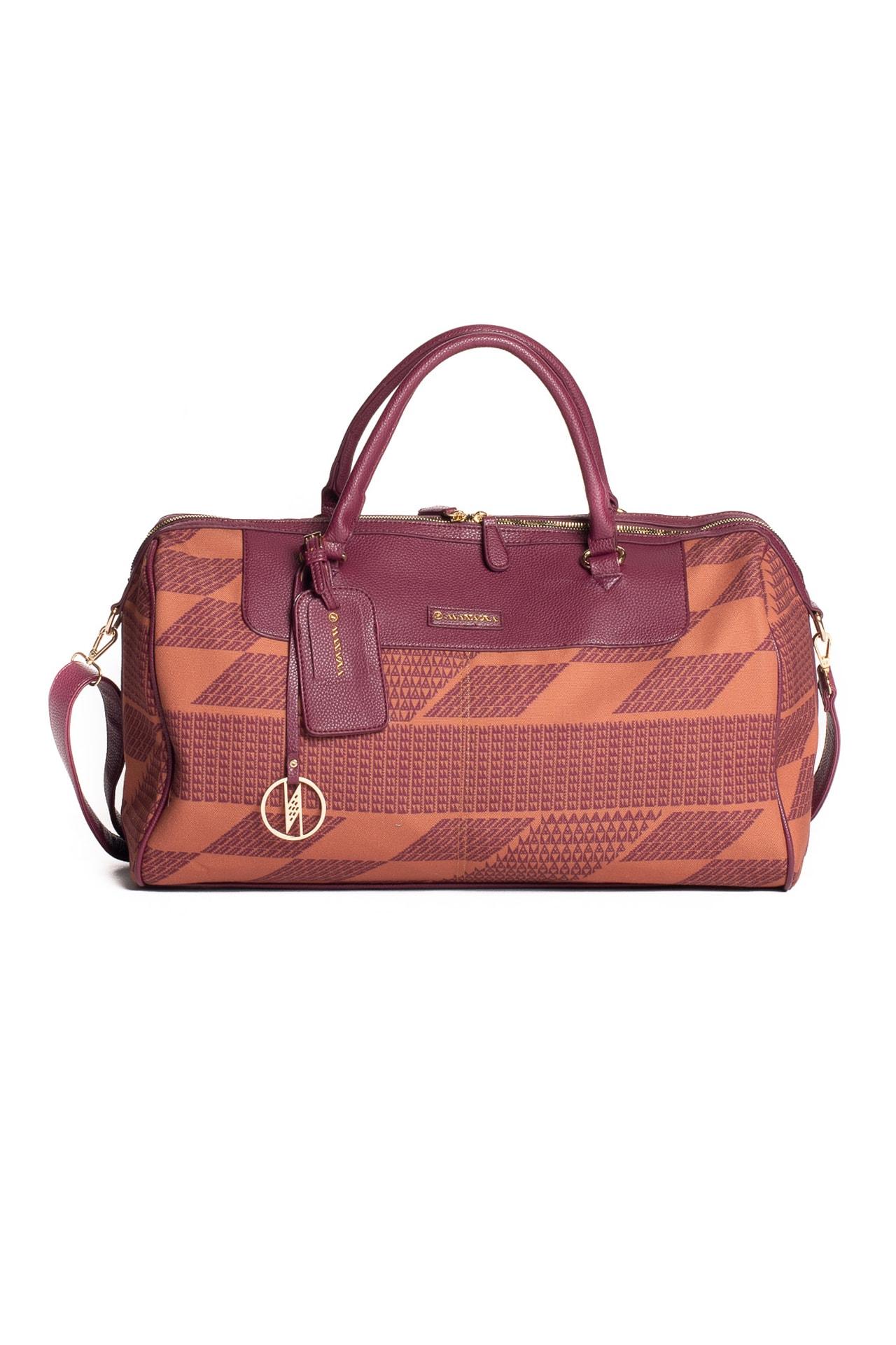 Island Hopper Bag in Red Mahogay/Copper