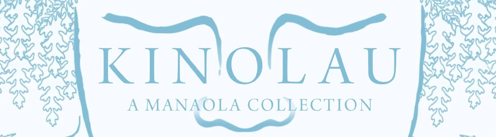 "Kinolau ""A Manaloa Collection"" Blue Banner"