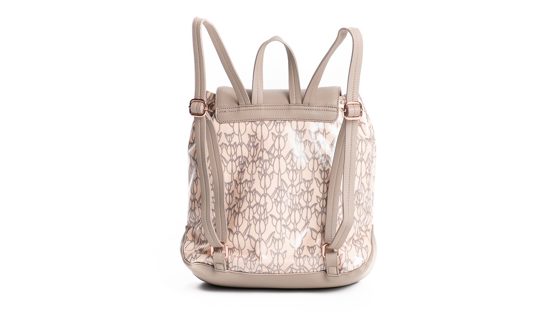 Laulii backpack in Apricot Sherbert/Gingersnap