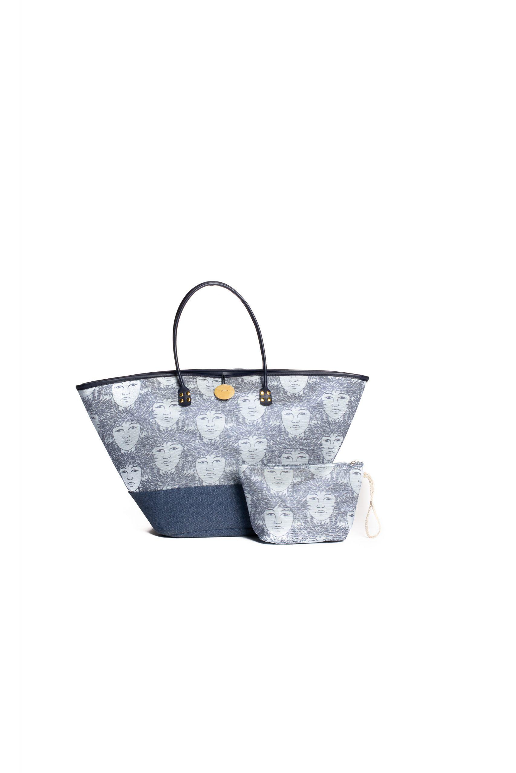 Puamelia Bag Set in Blue