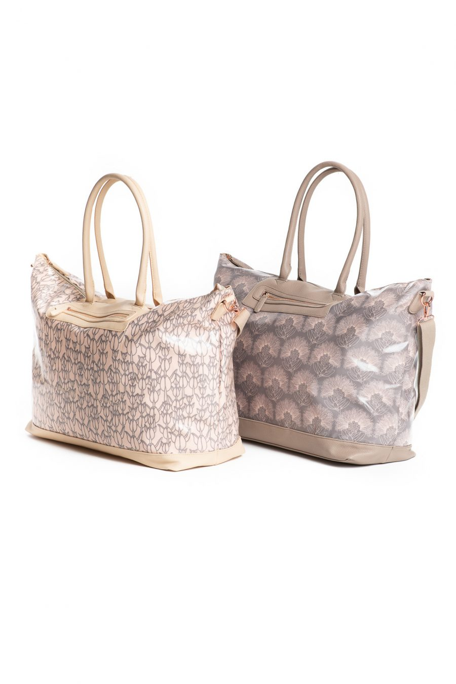Waonahele Tote Duo in Apricot Sherbert/Gingersnap