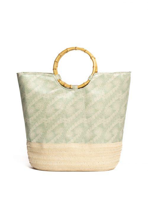 Ohe Handbag in Green