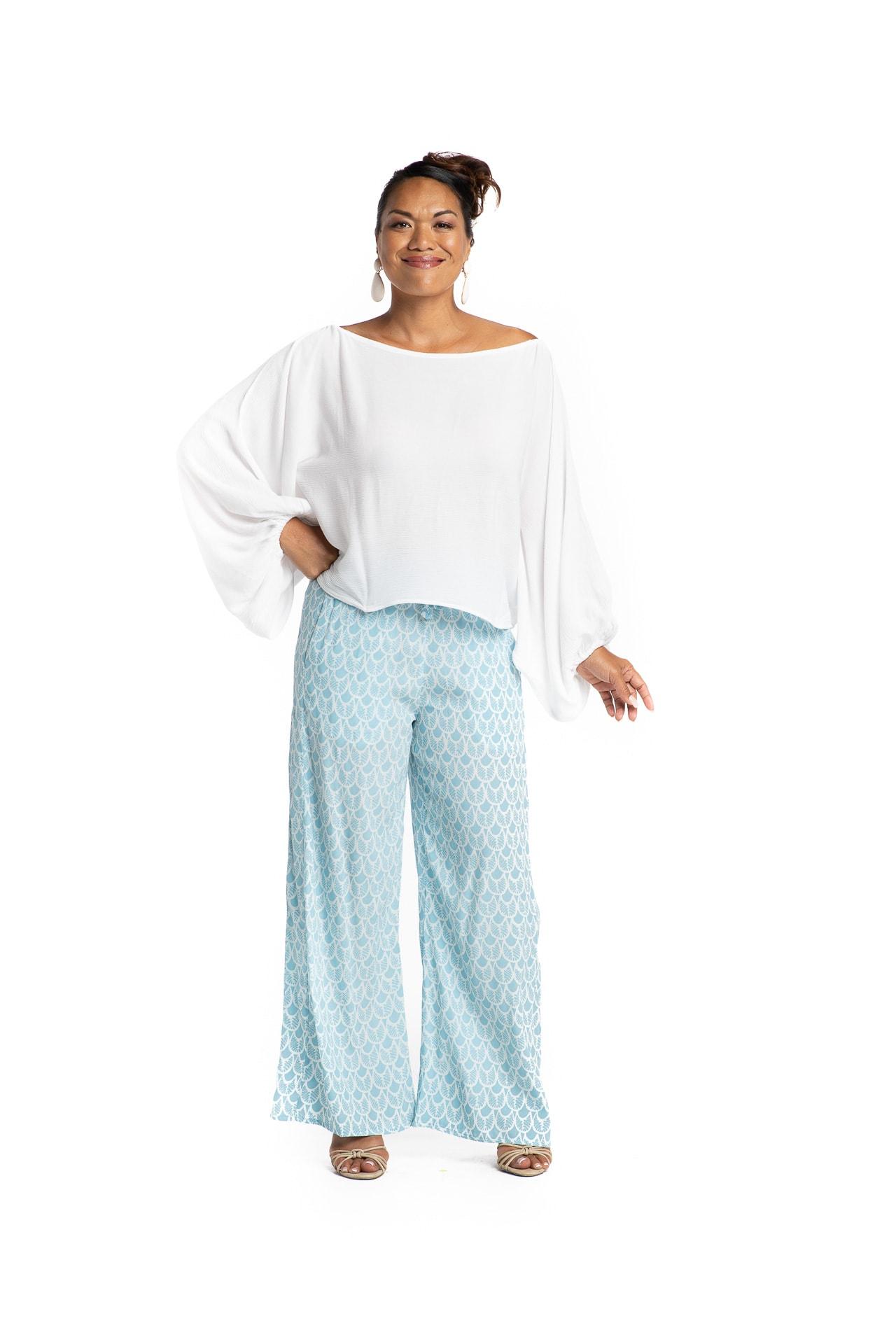 Model wearing Ola Pants