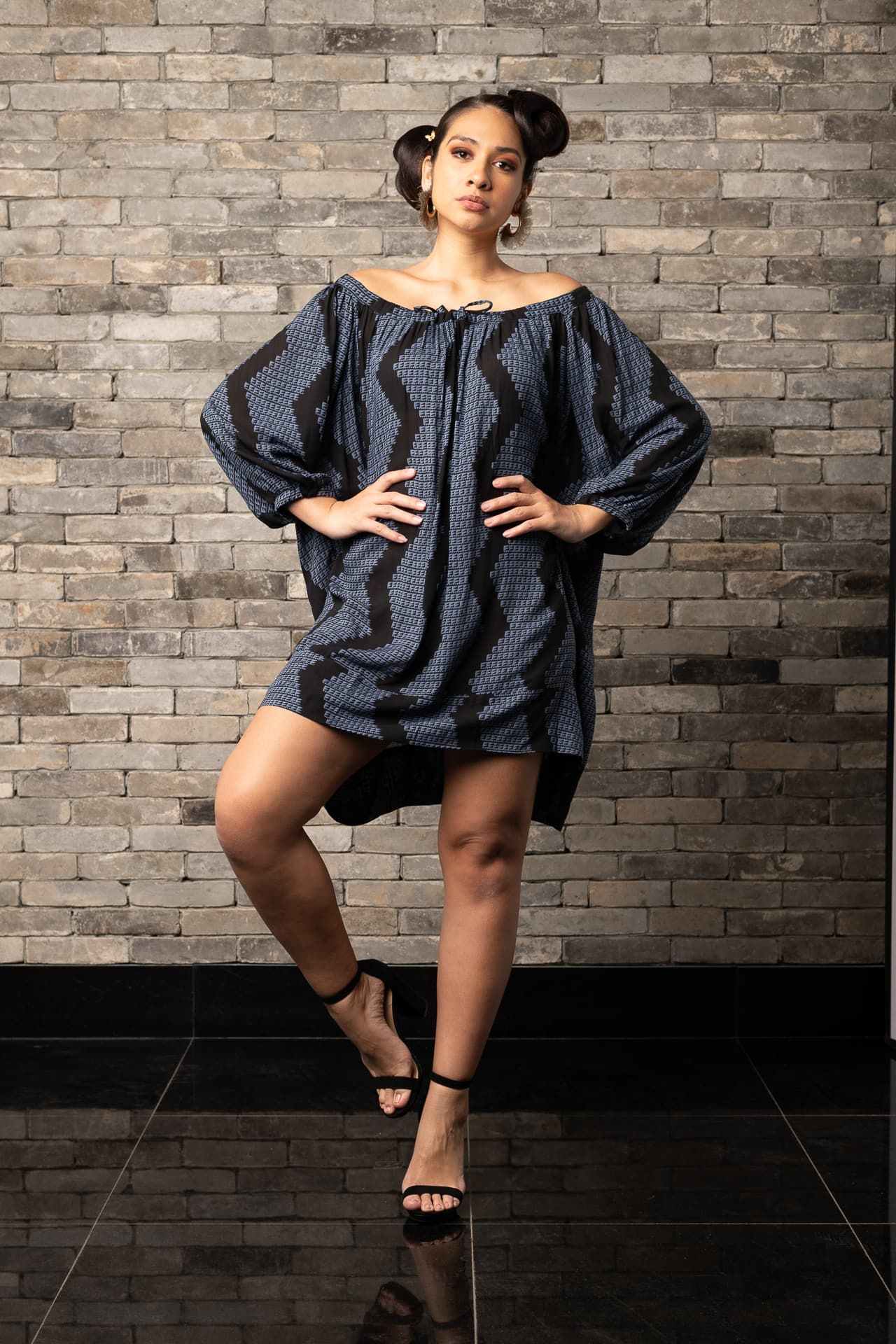 Model wearing Healani Top
