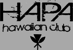 HAPA Hawaiian Club Logo on Transparent Background