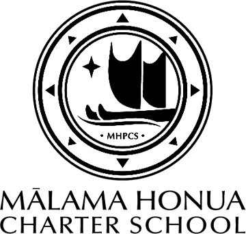 Malama Honua Charter School Logo on Transparent Background