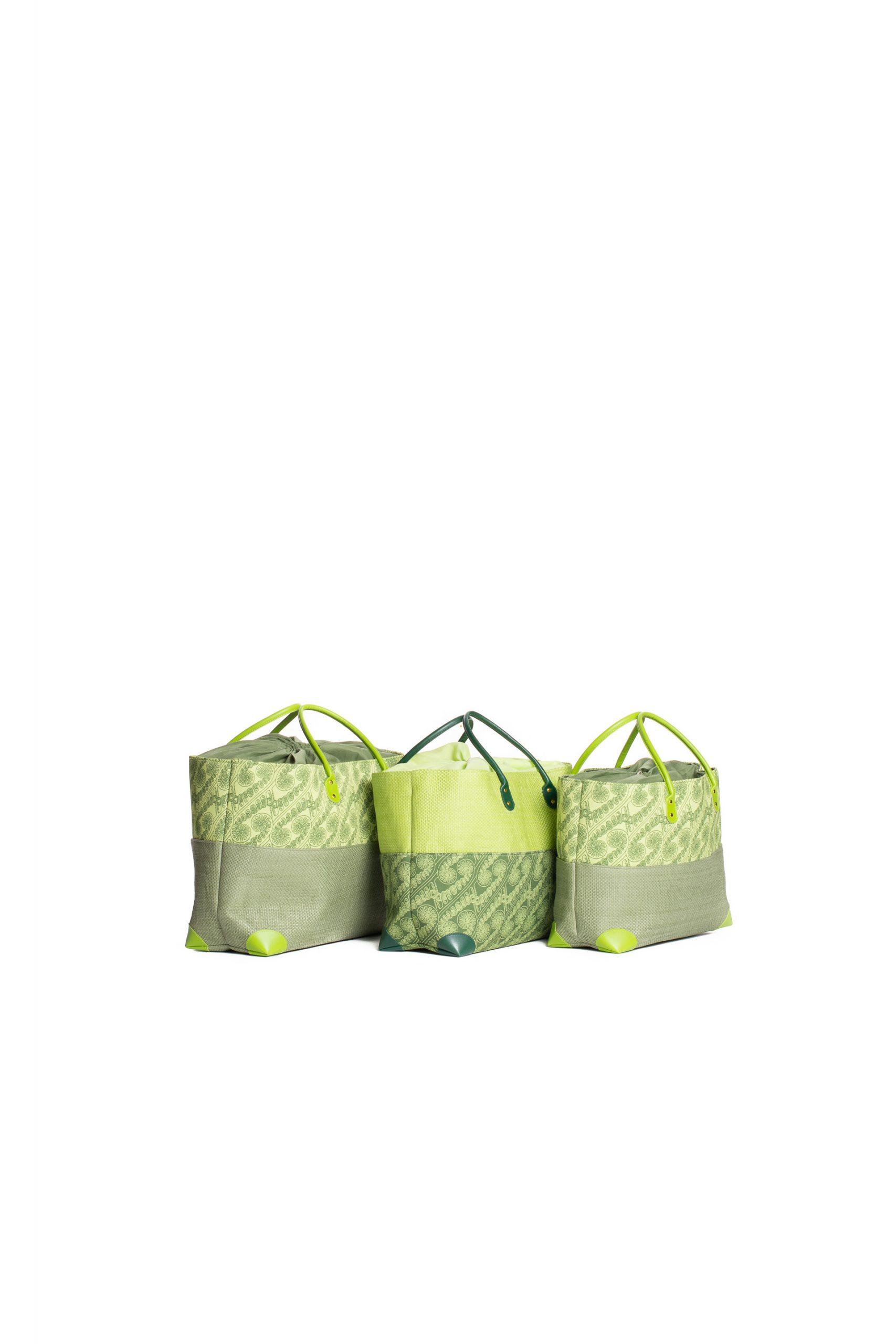 Hula Trio Bag Set in Green