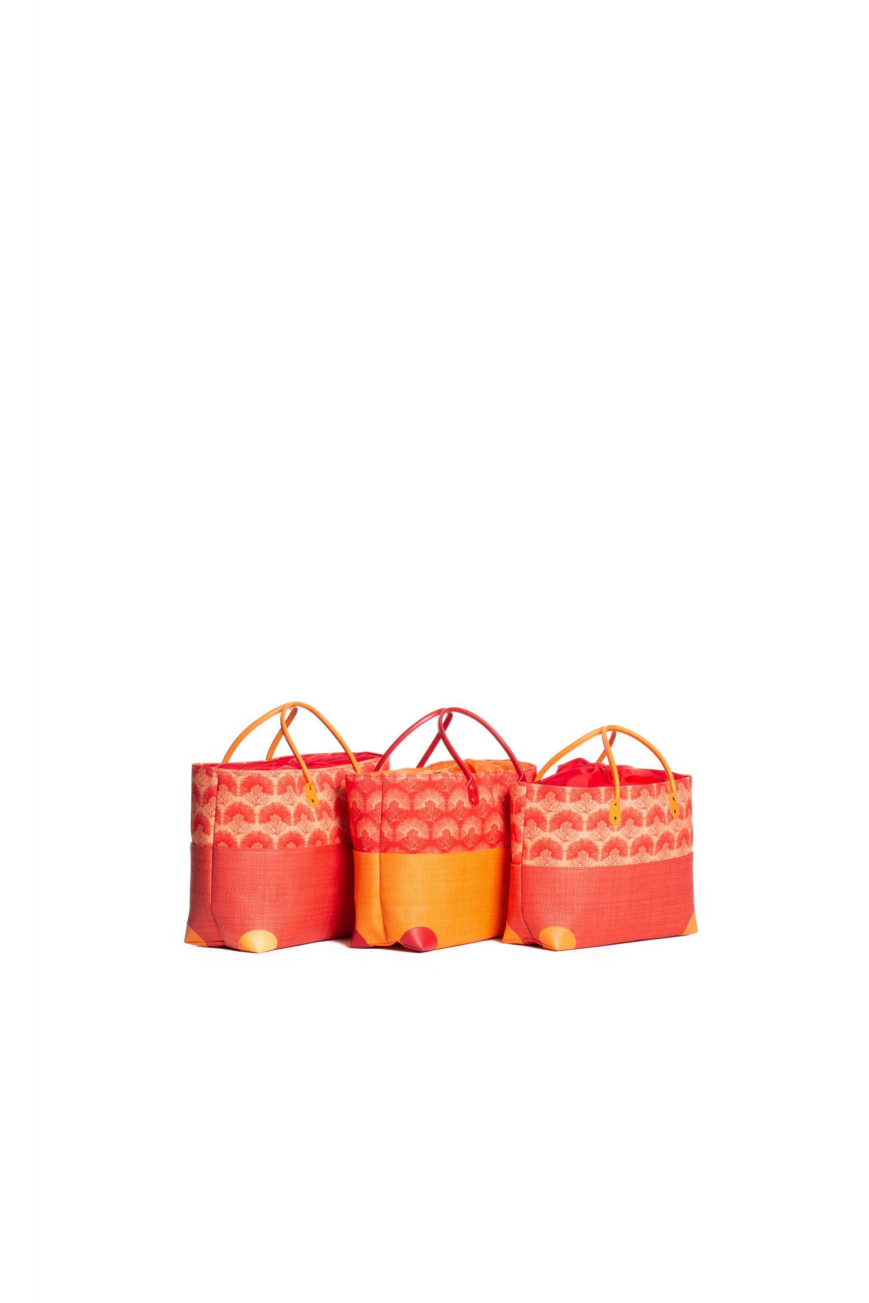 Hula Trio Bag Set in Red