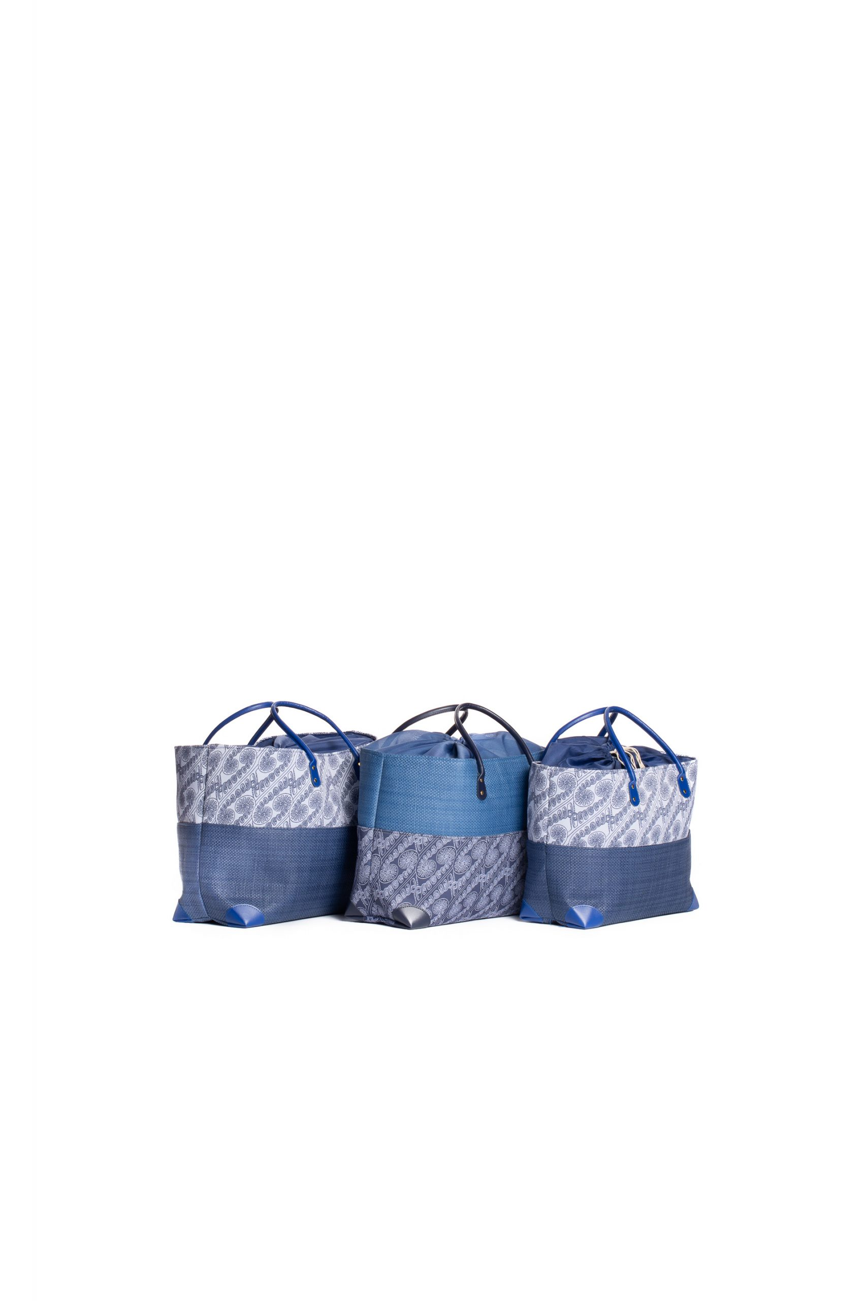 Hula Trio Bag Set in Blue