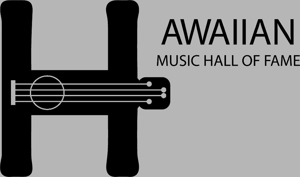 Hawaiian Music Hall of Fame Logo on Transparent Background
