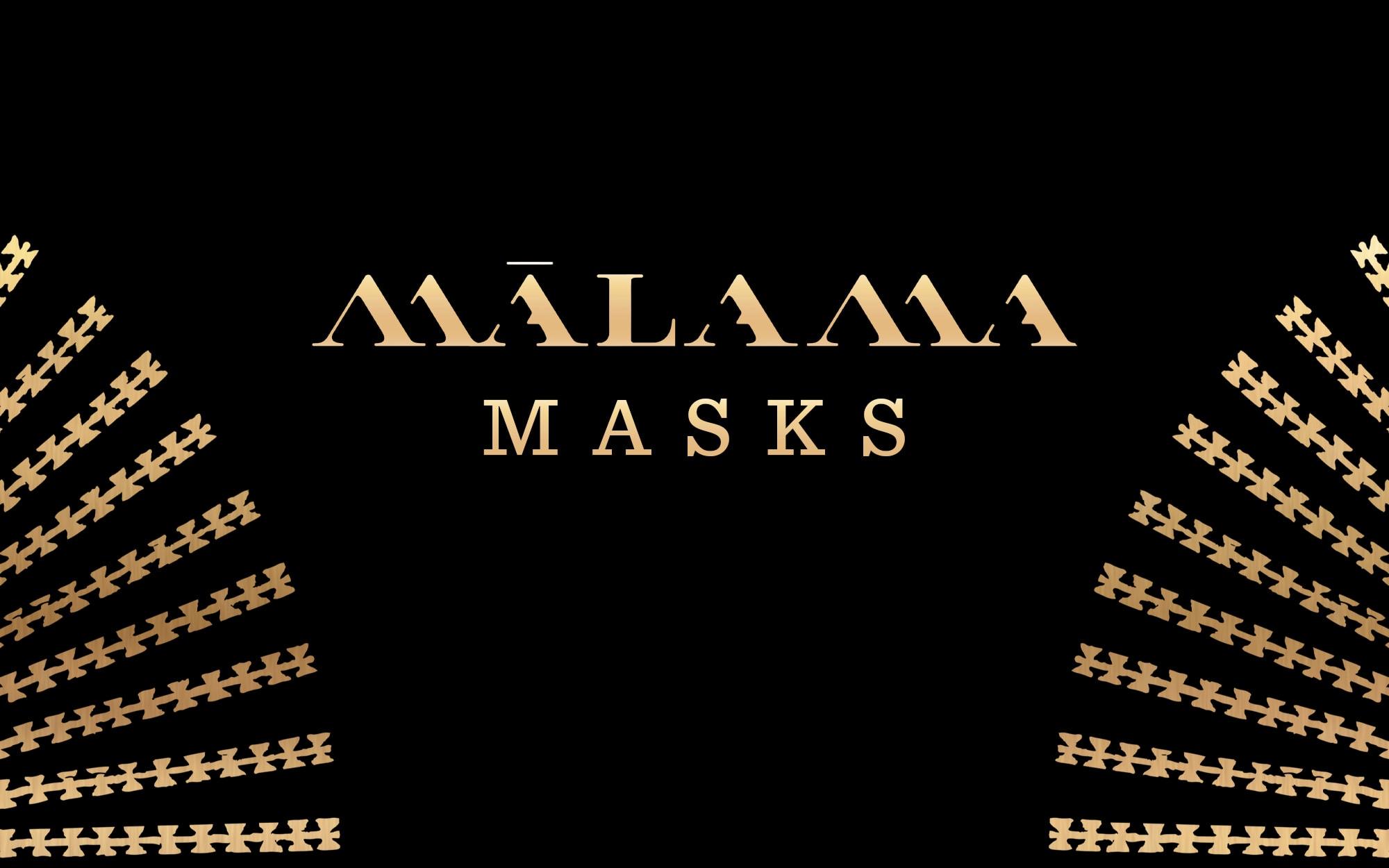 Malama Masks Banner