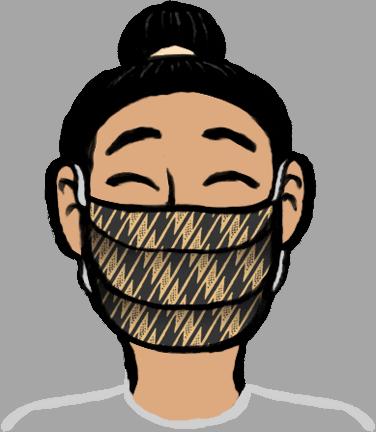 Malama Mask image on Transparent Background