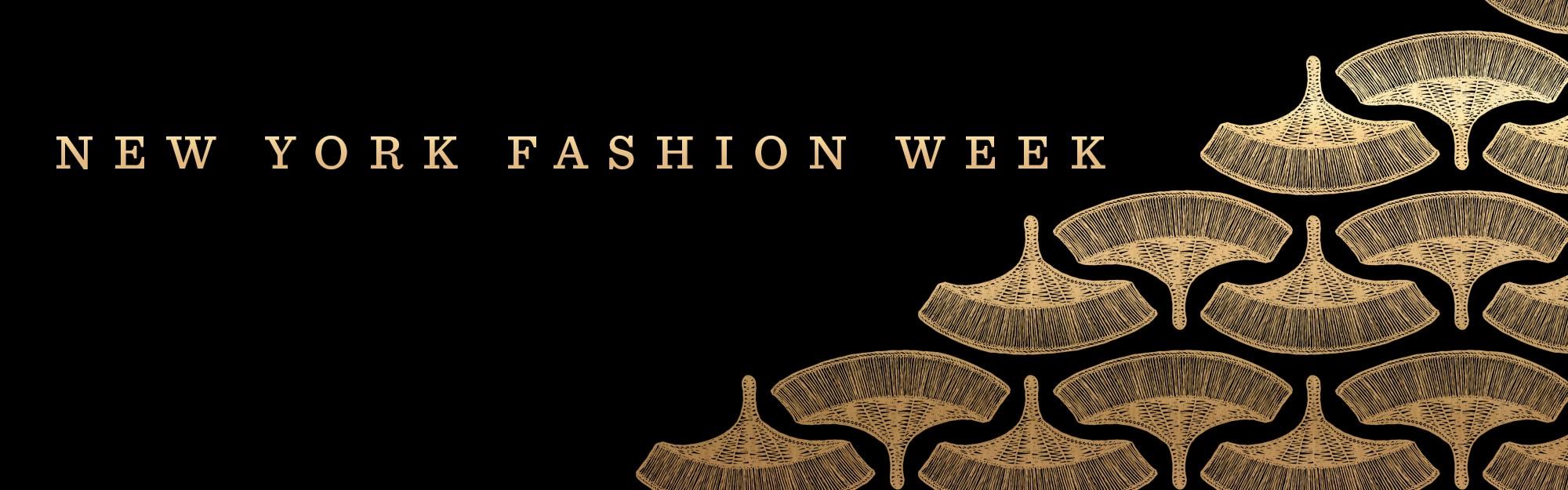 New York Fashion Week Banner