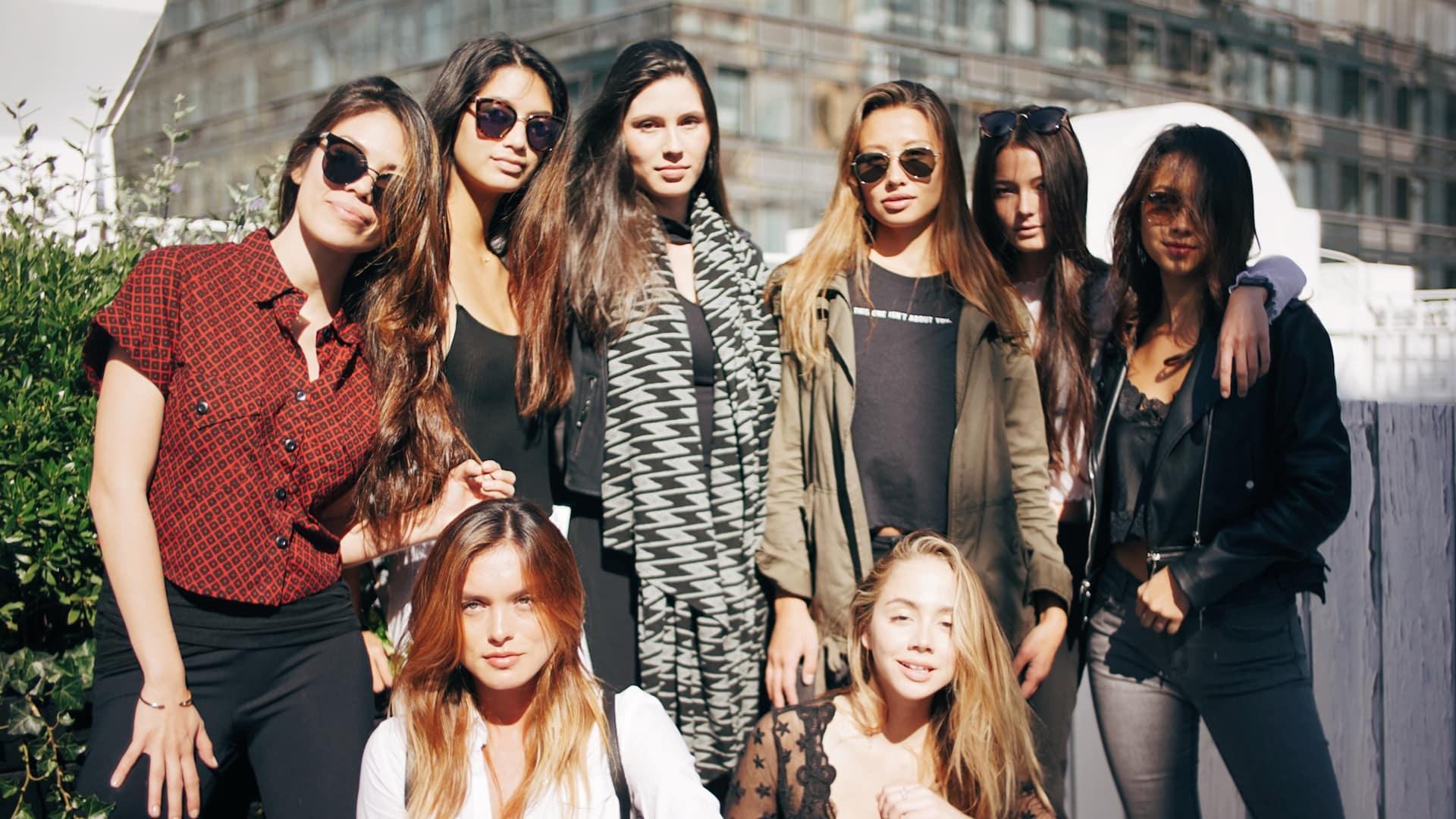 New York Fashion Week female models