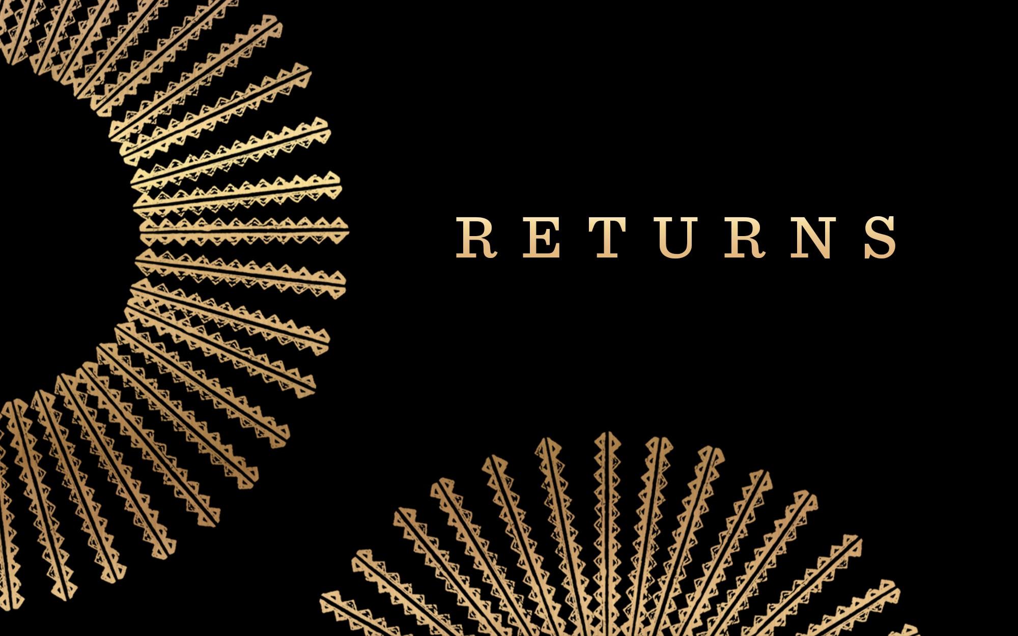 Returns Banner
