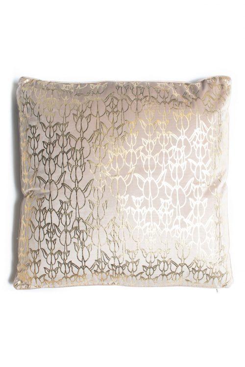 Weleweka 26x26 Pillow in Gingersnap/Apricot Sherbet Kapualiko
