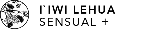 I'iwi Lehua Sensual + on Transparent Background