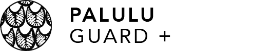 Palulu Guard + Logo on Transparent Background