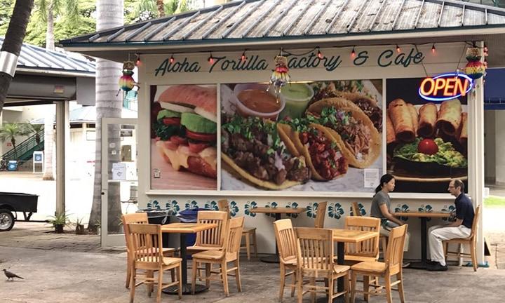 Aloha Tortilla Factory & Cafe Storefront
