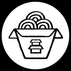 Asian Rice Icon on Transparent Icon