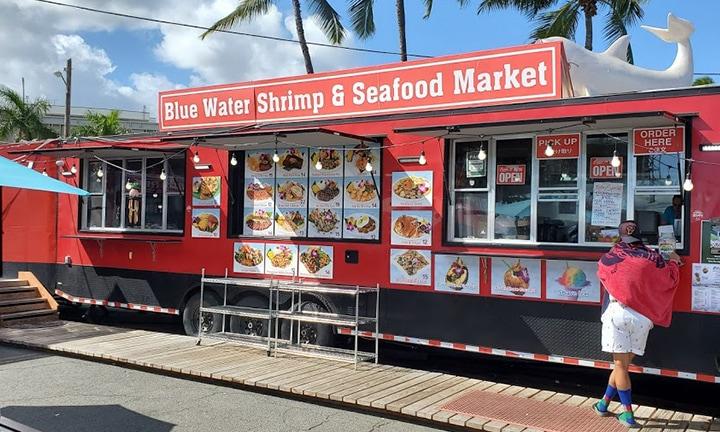 Blue Water Shrimp & Seafood Market Storefront