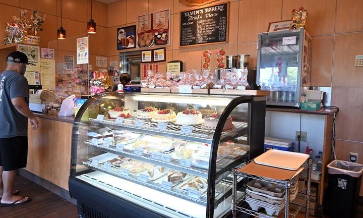 Elvins Bakery Display