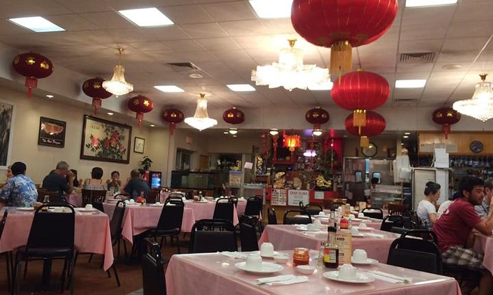 Inside of Happy Days Diner