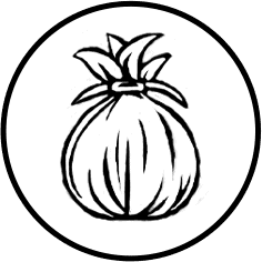 Hawaiian Pineapple Icon on transparent background