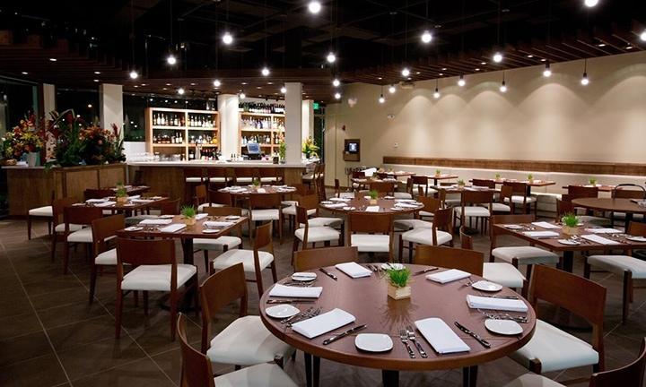 Inside of MW Restaurant
