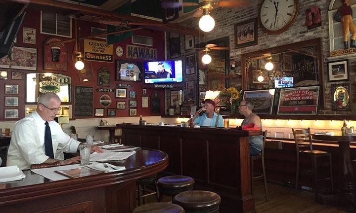 Inside of Murphy's Bar
