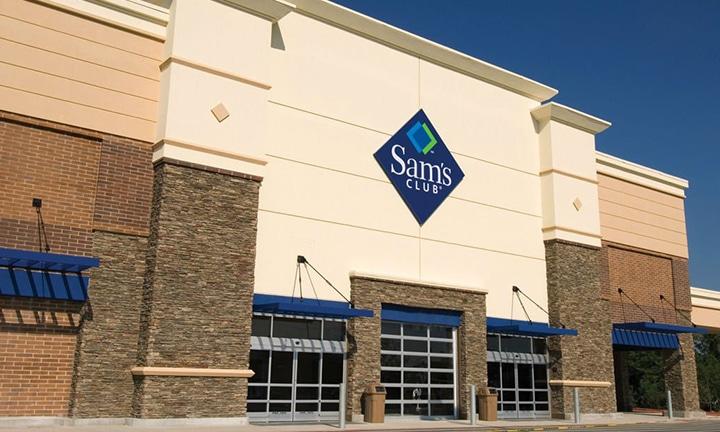 Sam's Club Storefront