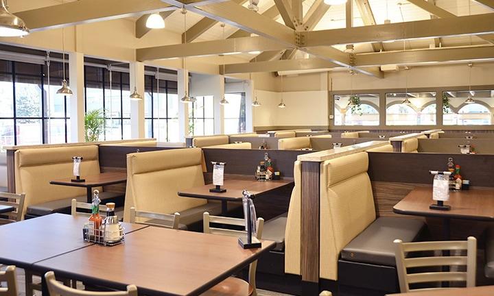 Inside of Zippys Diner