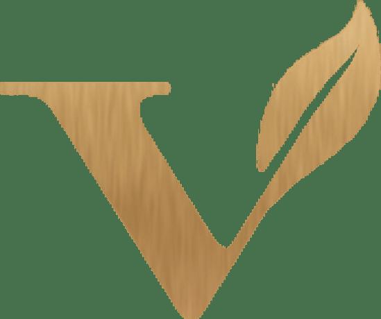 Gold Vegan Icon