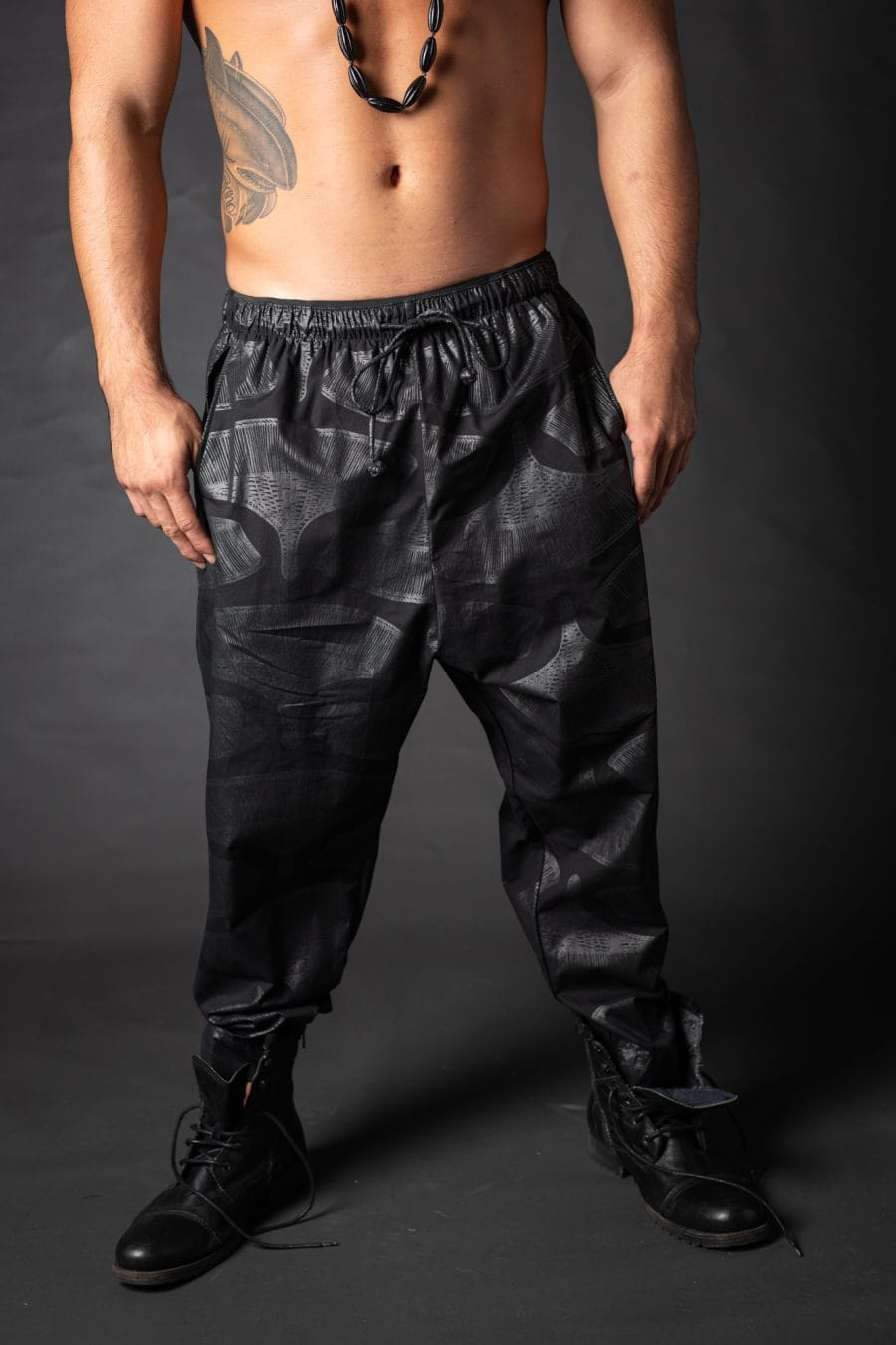 Male model wearing Ibiza Pant - Front View